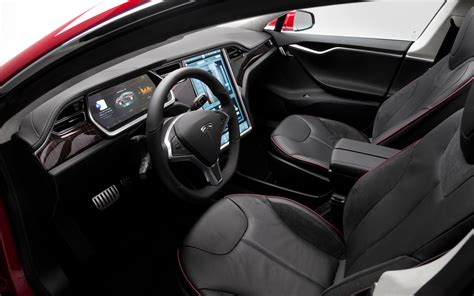Tesla Model S Black Interior Design Studio On Tesla Website Needs Improvement Page