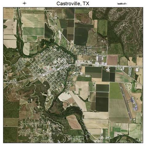 castroville texas map aerial photography map of castroville tx texas