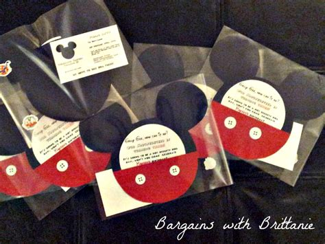 Handmade Mickey Mouse Birthday Invitations - diy mickey mouse clubhouse invitations bargains