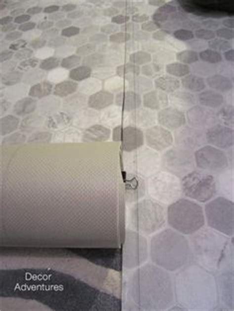 Tarkett 12 ft W Grey Geometric FiberFloor Sheet Vinyl at