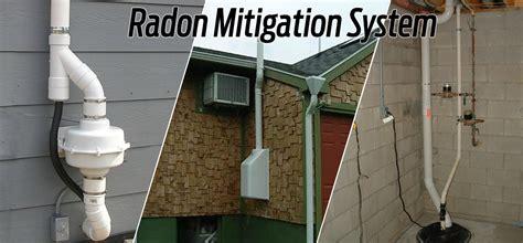 how to install radon mitigation system in basement radon mitigation suburban services