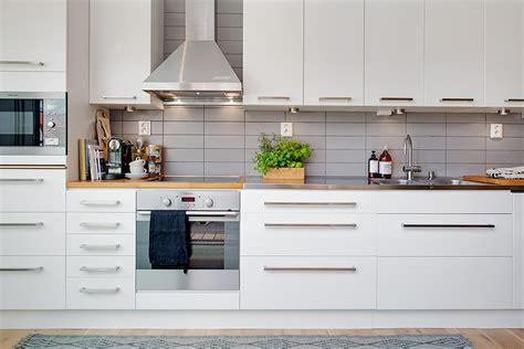 European Apartment Kitchen Design Cozy Apartment Decorated In Modern Scandinavian Style