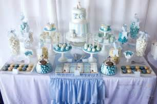 At this christening table on kara s party ideas from 3 s a party