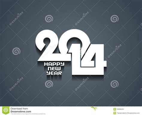 happy new year from design happy new year 2014 design royalty free stock