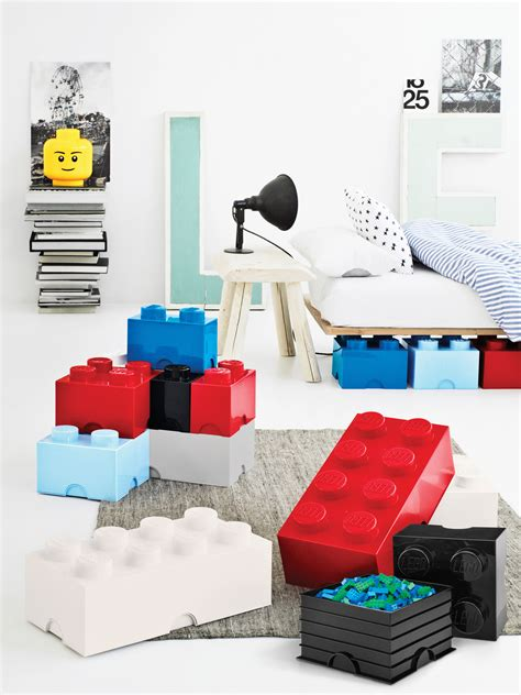 lego 174 brick box red by room copenhagen