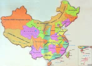 China Province Map by China Province Map Province Map Of China Map Of China