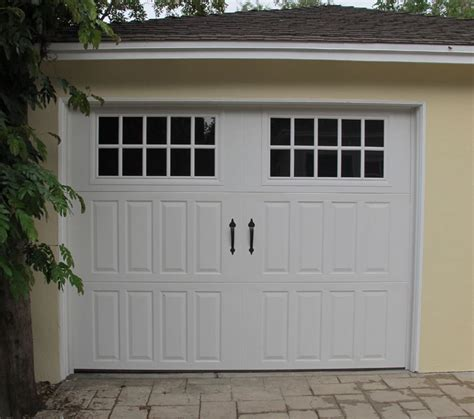 Garage Door With Windows by Non Traditional Steel Garage Doors Gallery Dyer S Garage