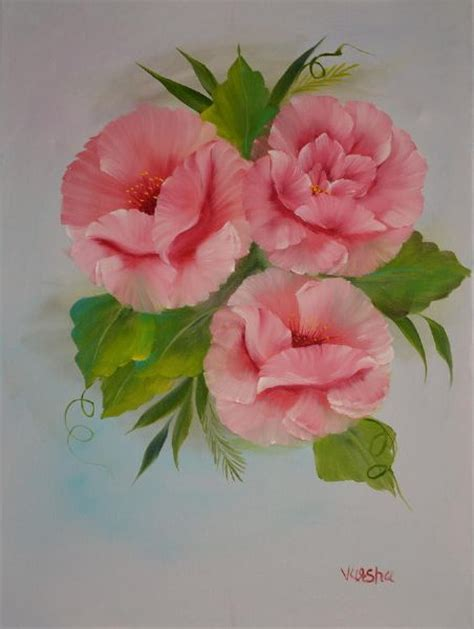 bob ross painting flowers bob ross pink roses paintings flowers bob