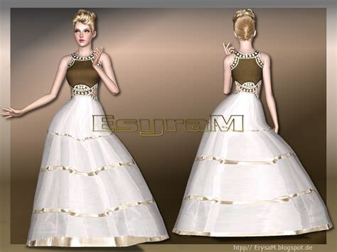 ball gown sims 4 my sims 3 blog tulle ball gown by erysam