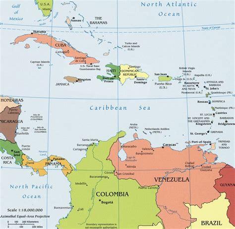 imagenes satelitales mar caribe ubicacion de puerto rico en el caribe quot mapa pol 237 tico