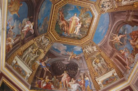 Vatican Ceiling by Vatican Museum And Sistine Chapel Ciao Italia