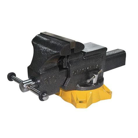 mechanics bench vise olympia 6 in mechanic s bench vise 38 616 the home depot