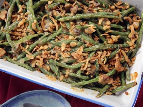 best ever green bean thanksgiving recipe green bean casserole recipe nancy fuller food network