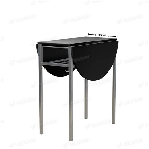 portable dining table extending portable butterfly fashion design black dining