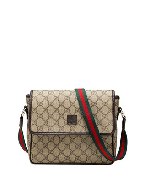 aliexpress gucci gucci girls gg supreme messenger bag beige brown