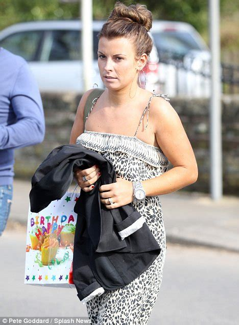 Coleen Mcloughlins Glittery 21st Birthday Bash by Coleen Rooney Takes And Family To Children S In