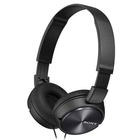 Headphone Sony Zx310 sony mdr zx310 headphone black free shipping dealextreme