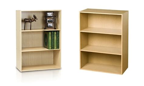 furinno 3 tier bookcase furinno 3 tier bookcase groupon goods