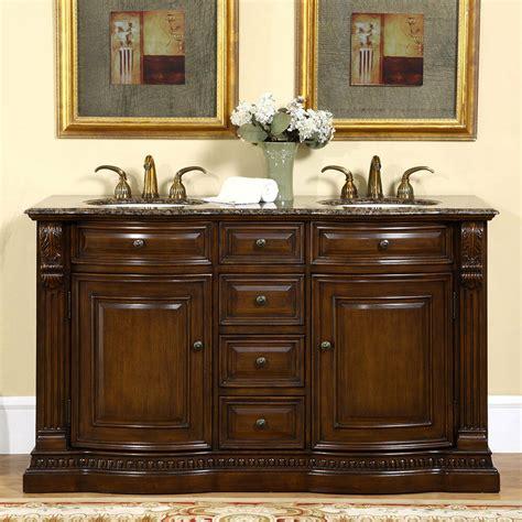 bathroom double sink vanity cabinet granite stone counter top bb ebay