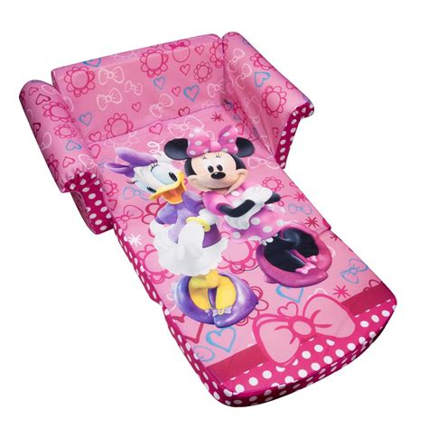 minnie mouse ottoman total fab minnie mouse chairs fold out couches flip sofas