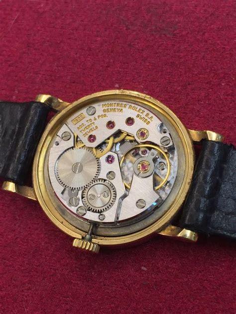 Jam Tangan Rolex Genuve Cellini 2 rolex cellini geneve 18 kt gold s unisex 90s