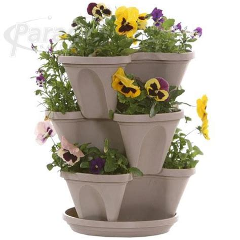 stacking planter hb 3 tier set 12 in paradigm gardens