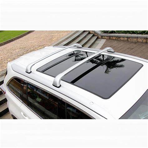 Roof Rack 2 Pcs Cross Bar All New Fortuner All New Pajero 4 pcs car styling new aluminum alloy cross roof bar