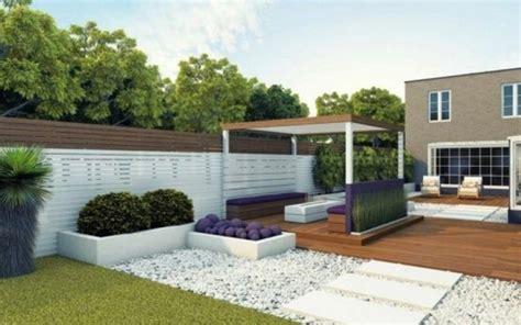 Garten Ideen Gestaltung Modern gartengestaltung ideen mit kies modern garten modern
