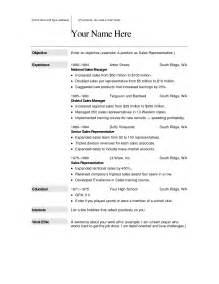 How To Word A Resume Objective Resume Microsoft Word