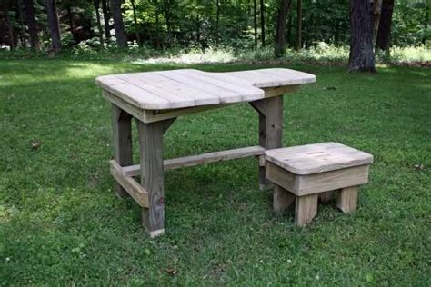 build your own shooting bench wooden free wood shooting bench plans pdf plans