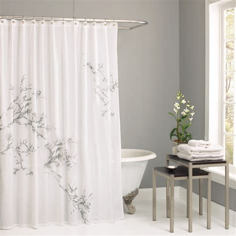 100 cotton shower curtain cotton shower curtains park cotton libreto shower