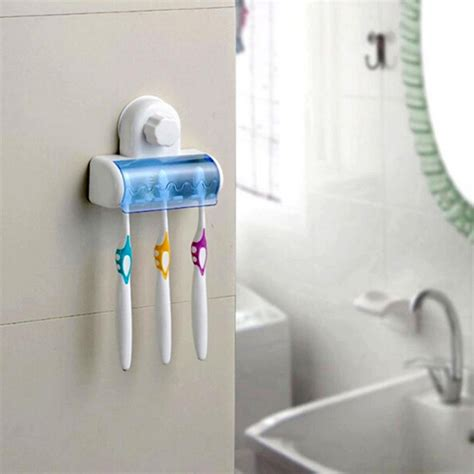bathroom toothbrush storage aliexpress buy 1x suction cup wall mount bathroom 5