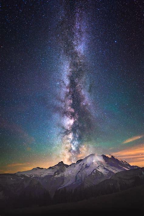 eruption  stars mt rainier national park wa limited