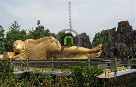 Kaos Patung Budha patung buddha tidur yang satu ini masih di mojokerto lho