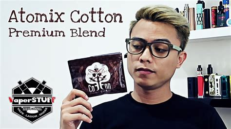 Atomix Premium Blend Kapas Vape Murah atomix cotton premium blend vape introduction