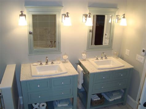 bathroom with two vanities ensuite vanities traditional bathroom vanities and