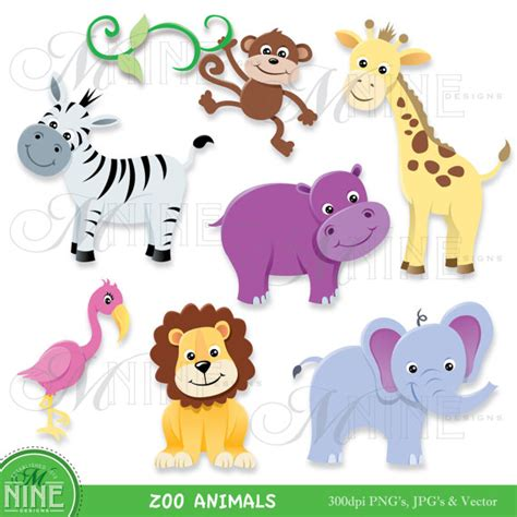 free printable zoo animal clipart zoo animal clip art zoo animals clipart download elephant