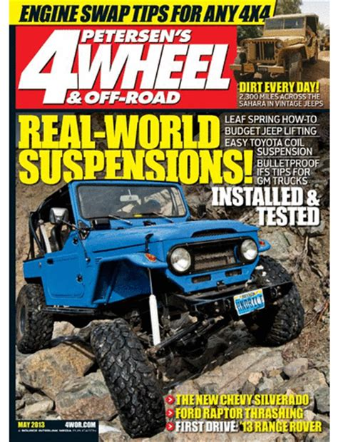 cancel magazines 4 wheel off road magazine only 3 99 for a 1 year