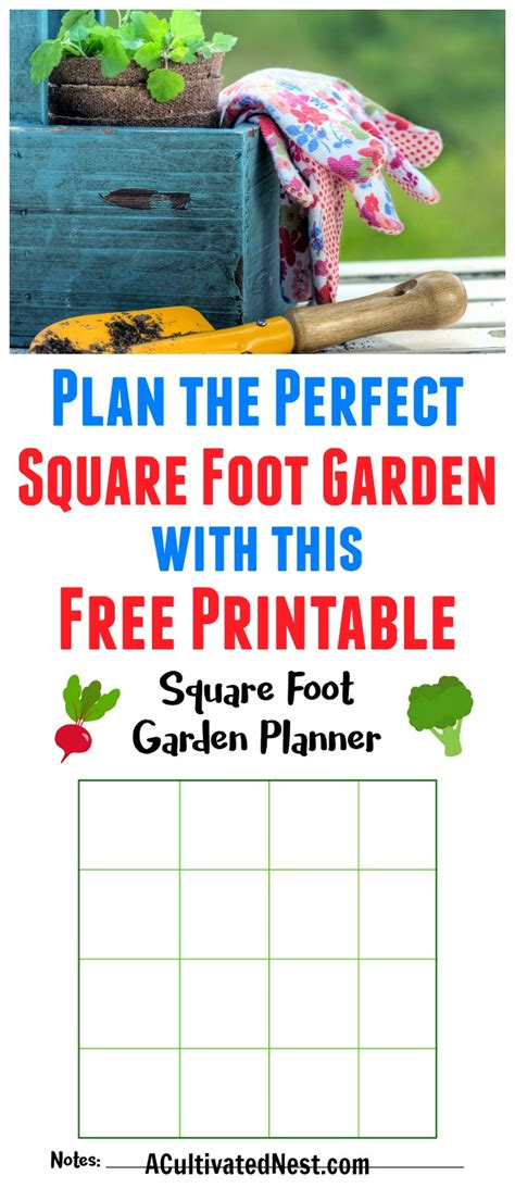 printable square foot garden planner square foot garden planner printable garden ftempo