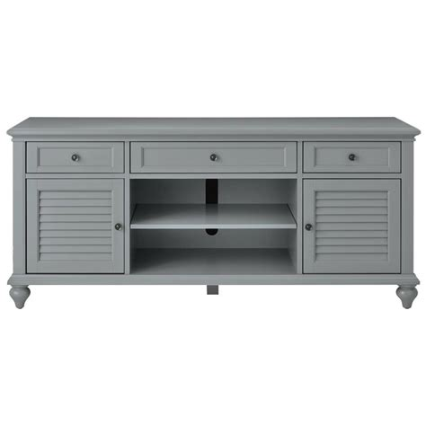 Home Decorators Tv Stand Home Decorators Collection Hamilton 26 In Grey Tv Stand