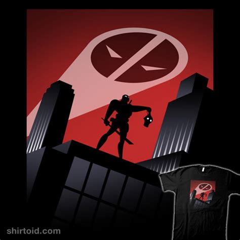 Tas Deadpool deadpool the animated series shirtoid