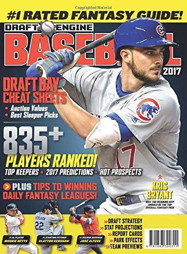 shandler s 2018 baseball forecaster encyclopedia of fanalytics books draft engine baseball 2017 winning rankings for