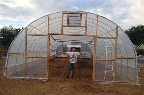 hoop house kits hoop house high tunnels roberts ranch gardens
