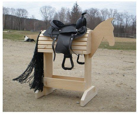 saddle stand elite woodworking ideas saddle rack