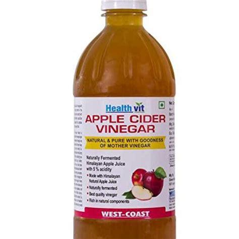 Dehealth Supplies Vinega Apple Vinegar 500ml compare buy healthvit apple cider vinegar 500 ml in india at best price healthgenie in
