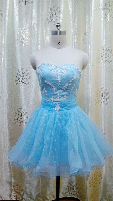 Dh Stela Maxi prom cocktail dress blue fashion dresses