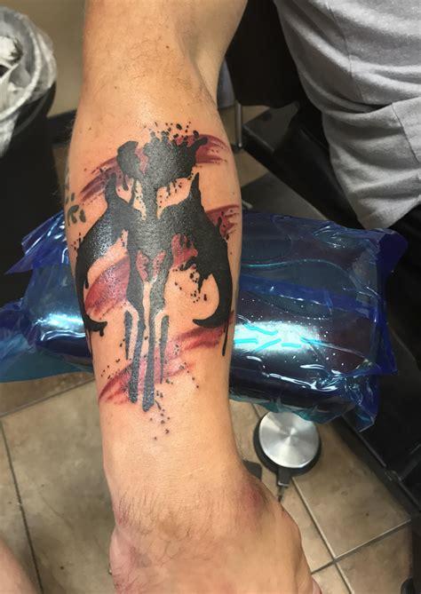 mandalorian tattoo mandalorian symbol wars rick cyn hotbox