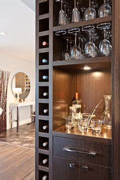 living room wine bar north vancouver wine cellar bar open shelving modern