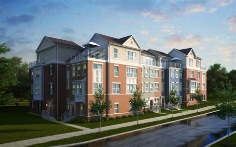 Winchester Homes Cabin Branch by Winchester Unveils Maryland Townhomes Builder Magazine