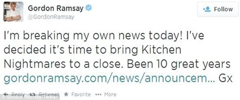 what kitchen nightmares to end after 10 years as gordon gordon ramsay s hit show kitchen nightmares is canceled
